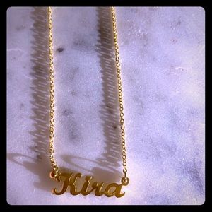 "Jewelry - Personalized name necklace ""Kira"""